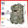 impermeáveis duráveis sacos de nylon 600D mochila militar para o exército