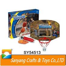 Indoor sport toys kids basketball hoop plastic basketball backboard