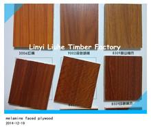 Furniture, Decoration, Packaging Phenolic glue plywood melamine faced plywood