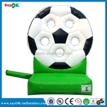 Durable PVC advertising inflatable car tire/inflatable tire for sale