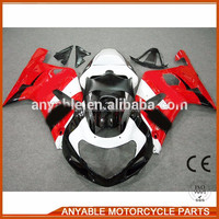 Cheap and high quality custom GSXR600 750 2001 2002 2003 for suzuki motorcycle fairing decals
