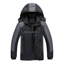 Hombres exterior climatizada montañismo chaqueta impermeable de invierno chaqueta de montar