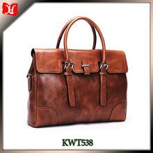 Best Price Genuine Leather Briefcase Men China