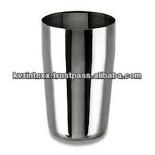 100% silver led light drinking glass