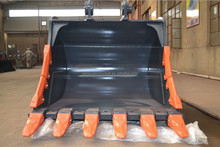 Excavator and bulldozer rainbow standard bucket