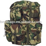 2013 Quality Woodland Camouflage bags - Large ALICE Pack