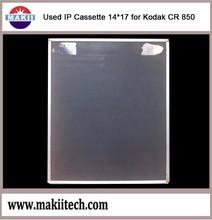 Usado IP cassete 14 * 17 para Kodak CR 850