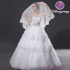 ZD04 bridal veil tulle fabric lace edged wedding veils wedding accessories