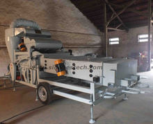 seed cleaning machine to processing cocoa bean