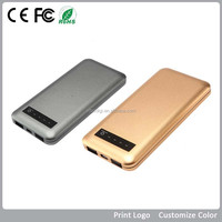 Mobile accessories usb chargers portable 12000mAh power bank recharge