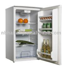key locked table top fridge