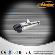 Custom aftermarket stainless steel motorcycle, scooter exhaust pipe for wholesale