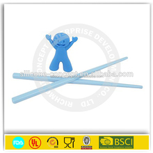 Factory new arrival kitchen tools color silicone animal chopstick