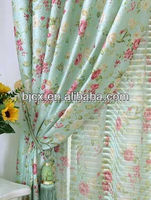 VARIOUS POLYESTER RAYON PRINTED DESIGNS FABRIC PAINTING FOR LUXURY CURTAINS