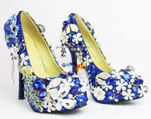 new fashion handmade evening shoes for women
