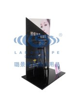 cardboard eyeshadow display case/advertisement for cosmetic product promotion