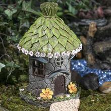 Resin Leaf Fairi House Miniature
