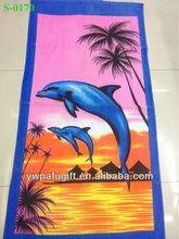 towel on the beach