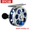 2015 New Arrival RYOBI Fly Fishing Reels Mini Pie Mini Cool Raft Ice Casting Fly Reel for Sale