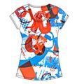 la impresión de dibujos animados t camisa