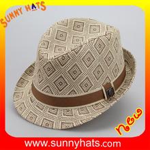 SHL- 1927 alibaba online shopping hat making custom round fedora hat