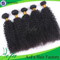 Tangle free cheap wholesale brazilian curly hair weaving