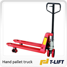 Good sale manual hydraulic lifter with PU wheel