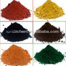iron oxide black/red/yellow/green/brown/blue cas 1332-37-2