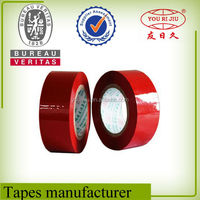 2015 Hot Sale !!! Certificated BOPP Printing Tape color adhesive