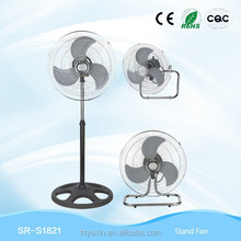 "18 OR 20"" super Crown Heavy Duty DC Industrial Stand Fan YX-10442AB"