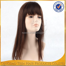uk alibaba express fake hair, human hair full lace wigs with bangs