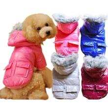 Trade Assurance 2015 New Design Winter Warm Dog Clothes Fashion Fur Pet Product 2colors