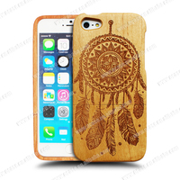 Custom Made Bamboo Mobile Phone Case for iphone 5s