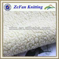 Super soft Faux sherpa sheepskin fabric wholesale