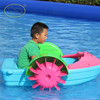2015 popular!! one person water wheeler pedal boat for sale