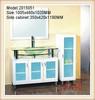 1000MM MDF bathroom cabinet vanity unit 2015051