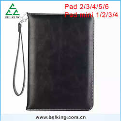 For ipad 2 3 4 iPad Air Air 2 ,Handbag Leather Card Slot Case For Ipad Mini 2 3 4 Tablet Leather Case