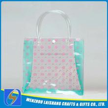 Factory wholesale hot sale clear plastic pvc handbags