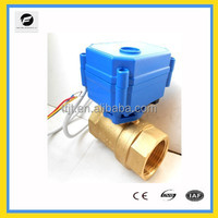 CWX15N 12VDC 2way full port brass/stainless steel mini electric valve for Irrigation equipment,drinking water equipment
