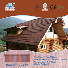 Nigeria building material/stone coated roof tile/sand coated roofing tile