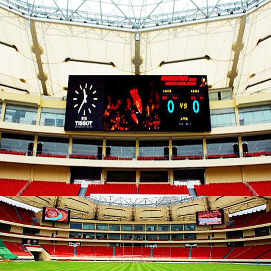 Alta Luminosità P20 di Colore Completo calcio outdoor display a led
