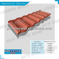 0.4mm Ce Certified stone coated steel roofing/ Sand Coated tile Roofing/colorful sand coated roof steel