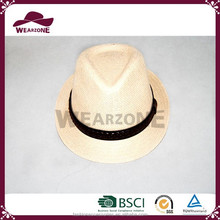 Wholesale Alibaba infant paper fabric fedora hat for sale