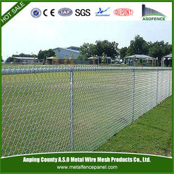 lows chain link prices / Galvanized Chain Link Fence (ISO9001;Manufacturer)