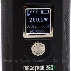 China wholesales factory price wholesale 250w megatron clone megatron box mod clone adjustable megatron 260w mod