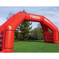 Durable and popular 0.35-0.66mm PVC inflatable advertising arch C2014