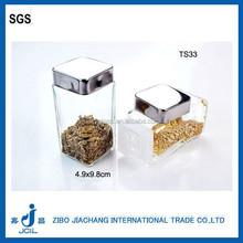 90ml wholesale mini glass spices bottle/herb jar