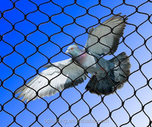 Stainless steel rope mesh widely application chicken wire /bird cage mesh for sales