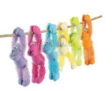 plush monkey names/plush toy monkey/plush blue monkey toy