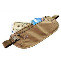 RFID Security Travel Money Belt/Waist Money Bag/waist money belt